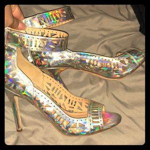 Artelier Nicole Miller Iridescent Caicos Heel